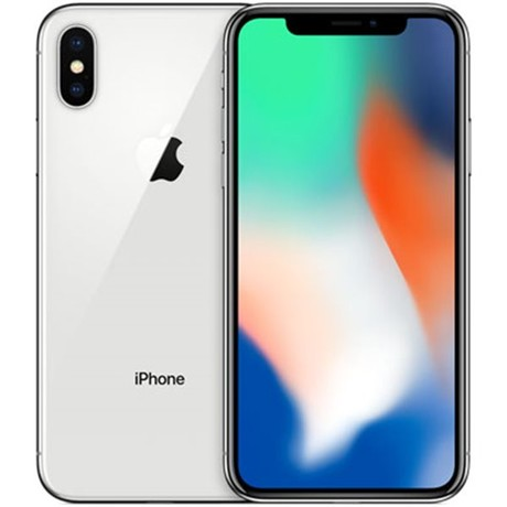 Apple iPhone X 256GB stříbrný